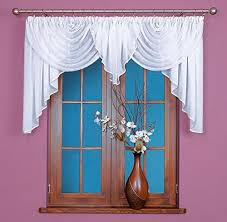 White Ready Made Curtains Uk Beautiful Voile Swag Curtains Jardinière In White Ready Made 100