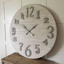 oversized clocks oversized clocks decorate the plain walls in your home with