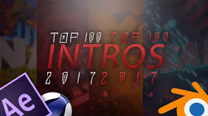 best templates for blender top 100 best free intro templates 2017 blender after effects