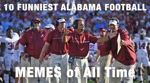 Football Player Meme - 10 funniest alabama football memes of all time