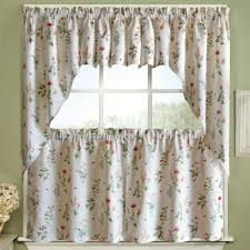 Kitchen Tier Curtains by English Garden Kitchen U0026 Tier Curtain Lorraine Home Fashion