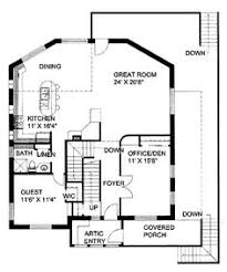 five bedroom queen anne hwbdo57201 queen anne house plan from