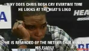 Chris Bosh Memes - chris bosh crying meme