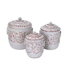 metal kitchen canister sets decorative jars canisters you ll wayfair ca