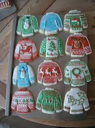 sweater cookies i decided to try some sweater cookies this year
