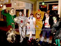 Halloween Costumes Zombies Coolest Homemade Zombie Wizard Oz Group Costume Costumes