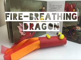 diy fire breathing u0027toilet roll u0027 dragon kids craft mummy maker
