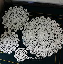 Crochet For Home Decor by Online Get Cheap Fabric Lace Doilies Aliexpress Com Alibaba Group