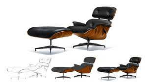 broken arm on eames lounge chair in below is the chair furniture