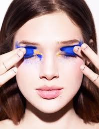 makeup for black dress and blue eyes dress style all about