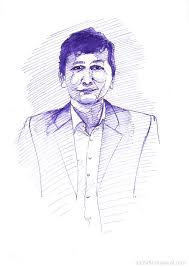ink pen drawings of human figures samir bharadwaj