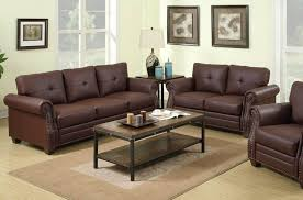 Leather Sofa Brown Furniture Exclusive Baron Brown Leather Couch Sofa And Loveseat