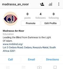 Who Leads The Blind Madrassa An Noor For The Blind Home Facebook