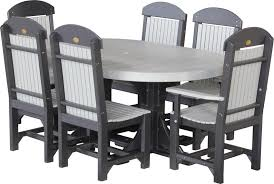 captain chairs for dining room luxcraft captain chair oval dining set from dutchcrafters amish