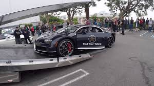 bugatti truck loading up 3 million bugatti chiron onto truck youtube