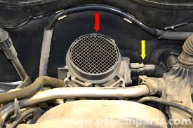 mercedes benz w203 maf mass air flow sensor replacement 2001