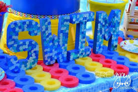 Pool Party Decoration Ideas It U0027s Pool Party Time Tuesday Morning Blog