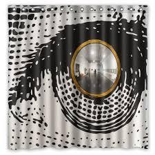 Fornasetti Curtains Aliexpress Com Buy Piero Fornasetti Work Waterproof Fabric Bath