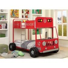toddler bed fire truck