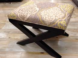 Home Goods Upholstered Chairs Ottomans Tahari Tray Homegoods Marble Tray Ottoman With Storage