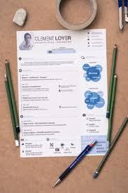 New Resume Template 39 Excellents Exemples De Cv De Designers U2026 Pinteres U2026