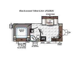 rockwood trailers floor plans 2018 forest river rockwood mini lite lt2506s murrieta ca