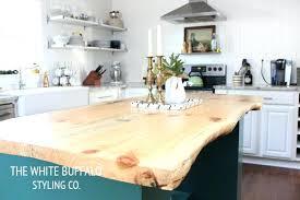 Unfinished Wood Kitchen Island Wood Island Kitchen Live Edge Wood Unfinished Wood Kitchen Island