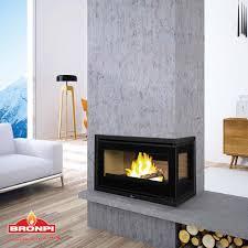 wood burning fireplace insert corner panama e bronpi