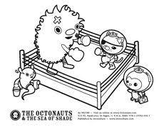 octonauts prehistoric ocean coloriage goody bags