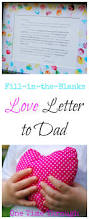 love letter to dad for father u0027s day children writing youngest