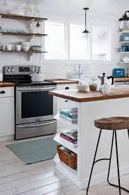 kitchen spring kitchen tour faucets sink gas range island wooden