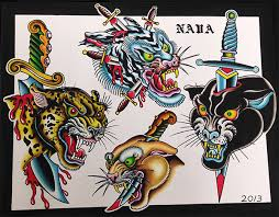 da vinci tattoo flash tattoo ink and tattoo art