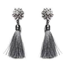thread earrings new statement silk thread earrings earring factory alibaba china