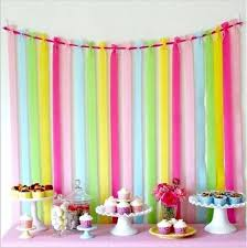crepe paper streamers decorating ideas with crepe paper streamers 10 10m roll crepe