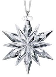 swarovski 2000 annual christmas snowflake ornament z christmas