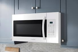 samsung 1 6 cu ft over the range microwave white me16h702sew
