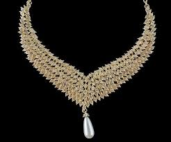 rhinestone necklace earrings images Gold metal plated necklace earrings bridal wedding jewelry sets jpg