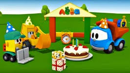 truck birthday party leo truck happy birthday party cake car for children