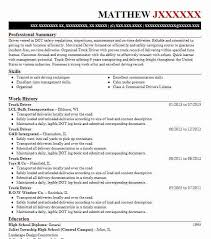 Sample Of Truck Driver Resume by Best Truck Driver Resume Example Livecareer