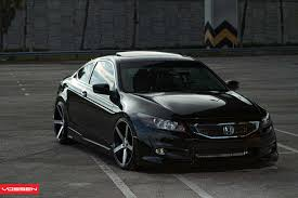 honda accord coupe stanced vossen wheels i think honda accord