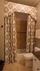 Custom Shower Curtains Custom Shower Curtain And Cornice Camille Blais Blais Blais