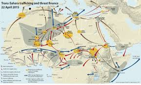 Map Of Libya Libyan War Spills Over To Europe Algeria And Niger Sc 2 2 1