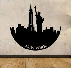 Living Room Quotes by Online Shop Statue Of Liberty Wall Decal Vinyl Wall Stickers For