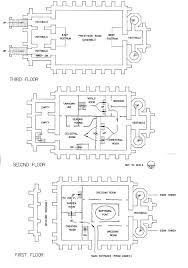Floor Plan Creation Historic Lds Architecture Manti Temple Interior