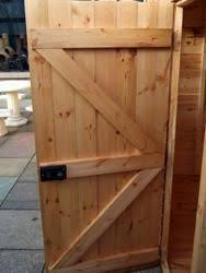 build your own set of replacement wooden shed doors using shed