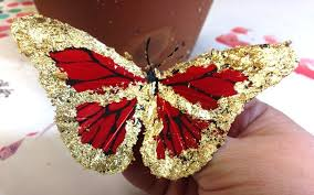 quintessentially gilded butterfly ornaments crafty chica