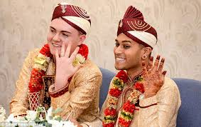 muslim and groom groom becomes uk muslim to a same marriage daily