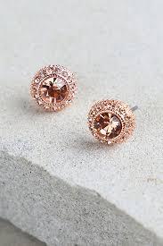 trendy gold earrings pretty gold earrings rhinestone earrings 10 00