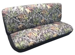Vintage Ford Truck Seats - amazon com camo bench seat cover camouflage forest gray ford