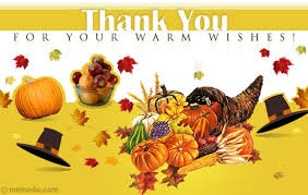 thanksgiving thank you card thanksgiving thank you ecard